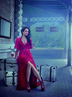 Eva Green for Campari 2015 calendar
