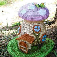 Spring Fairy House Crochet