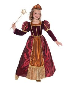 Love this Red Enchanted Princess Dress-Up Oufit - Toddler & Girls on #zulily! #zulilyfinds