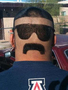 Skyler L. from Tucson, Arizona won a bet with a friend over the Super Bowl. The consequences? Skyler got to shave his head! But Skyler decided to be a little more creative… and this is what we got! That's the last time this guy bets on the Super Bowl!