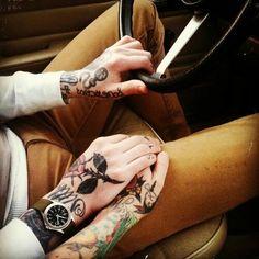#couple #tattoo