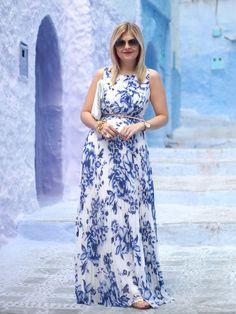 Blue on Blue ~ Suburban Faux-Pas Cute Dresses, Beautiful Dresses, Summer Dresses, Dress Outfits, Fashion Dresses, Dress Up, Event Dresses, Bridal Dresses, Conservative Fashion
