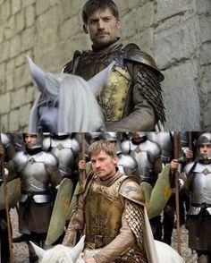 """Blood of My Blood"" Nikolaj Coster Waldau, Jaime Lannister, Lena Headey, Medieval, Blood, Novels, Ice, Fantasy, Statue"