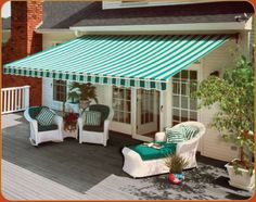 Great retractable for the backyard!   RE:Capital City Awning for back porch http://www.awningresources.com/Default.aspx