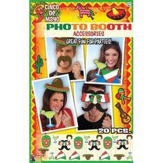 Mexican Photo Booth Set Cinco de Mayo