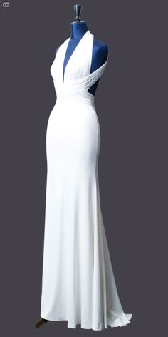Glam simple white dress for wedding Wedding Dress Sleeves, White Wedding Dresses, Bridal Dresses, Date Outfits, Simple White Dress, Evolution Of Fashion, Gowns Of Elegance, Formal Gowns, Beautiful Gowns
