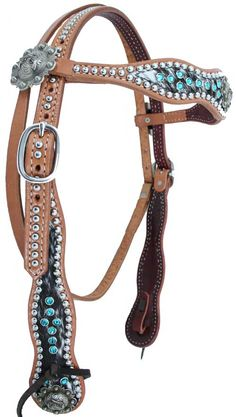 Luan's Leathers...brindle hair on hide/turquoise stones. Too bad the pricetag is high.
