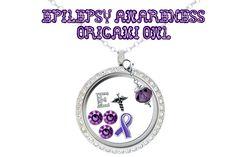 Epilepsy Awareness Origami Owl