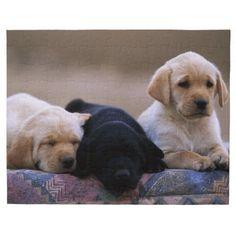 Labrador Retriever Puppies Jigsaw Puzzle