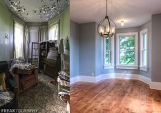 Time Capsule House Restoration Before and After Restoration Photos of a former abandoned time capsule house 1920s House, House, Unusual Homes, Home, House Restoration, Home Remodeling, Home Renovation, Abandoned Houses, Restoring Old Houses
