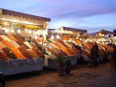 Nachtmarkt #Marokko