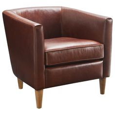 Chair Gallery:: Tub Chair Rustic Tan