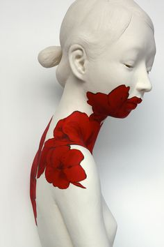 OcéanoMar - Art Site : Gosia Sculptures // INTO THE RED I & II &...