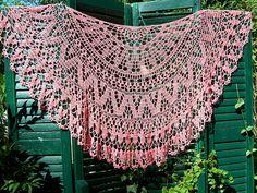 Ravelry: Doily shawl - Marks & Kattens #10056 pattern by Marks & Kattens