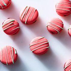 Eric Kayser's Raspberry-Lime Macarons recipe on Food52