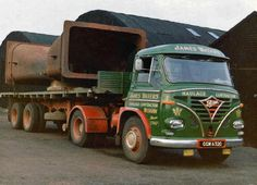 1966 FODEN Vintage Trucks, Old Trucks, Classic Trucks, Classic Cars, Old Lorries, Train Truck, British Rail, Commercial Vehicle, Dundee
