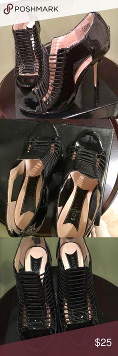 Boutique 9 Shoes Brand New, never worn, with the original box Boutique 9 heels. Size 6. Black color. Leather. Boutique 9 Shoes Heels