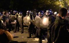 Halloween celebrations in central London turned violent after police attempted to crack down on the illegal rave, which was organized on social media. A number of revelers were arrested following attacks on police with bottles, chairs and a suspected petrol bomb.