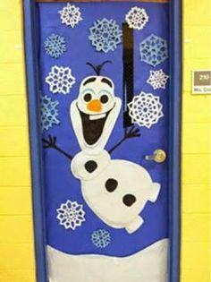 *MIS COSAS DE MAESTRA*: Decoración de puertas navideñas