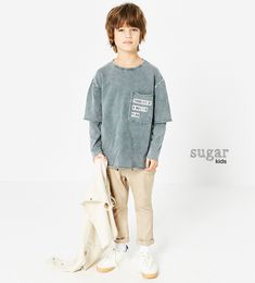 Oliver from Sugar Kids for ZARA.