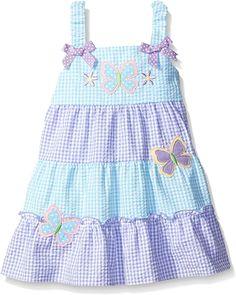 Kids Dress Wear, Little Girl Outfits, Toddler Girl Dresses, Kids Outfits, Baby Dress Design, Baby Girl Dress Patterns, Baby Clothes Patterns, Baby Frocks Designs, Kids Frocks Design