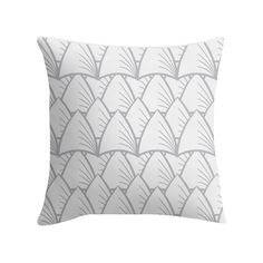"""""""Shards Grey"""" Pillow http://www.redbubble.com/people/angeflange/works/14722639-shards-grey?p=throw-pillow"""