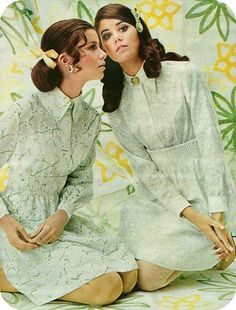 Kathy Brothers Colleen Corby in 1960s baby doll fashion