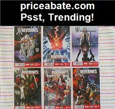 Lot of 6 Wolverines 1 2 3 4 5 6  Bag / Boards NM! - #priceabate! BUY IT NOW ONLY $14.99