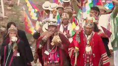 Een spirituele beëdiging in de Andes voor president Morales! #Andes #Bolivia #Morales #spiritueel  http://www.spirit24.nl/#!player/share/program:50547711/group:37200368