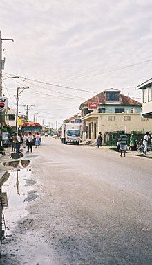 Dangriga – Wikipédia, a enciclopédia livre Belize City, Belize Travel, Street View, Medicine, Tropical, Main Street, City, Belize, Vacations
