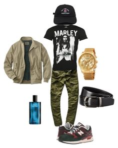 """""""In night in the streets - Flee"""" by mrmcflee on Polyvore featuring G-Star Raw, New Balance Classics, Akribos XXIV, Davidoff, Zegna, men's fashion and menswear"""