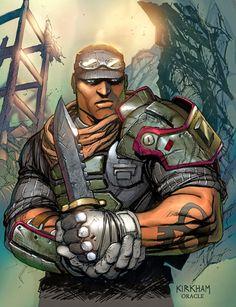 borderlands by Mystic-Oracle Borderlands Series, Tales From The Borderlands, Krieg Borderlands, Fantasy Warrior, Fantasy Art, Borderlands Tattoo, Character Art, Character Design, Pirates