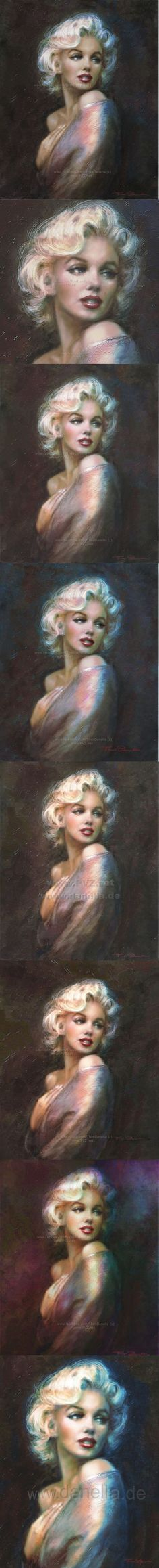 Theo Danella´s MARILYN in ART: www.facebook.com/TheoDanella ✿ ART Shops: http://www.pvz.net www.redbubble.com/people/theodanella ✿: