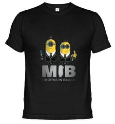 Camisetas Minions in Black #camisetas #minions http://www.latostadora.com/emcmasquecamisetas