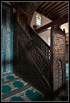 Minbar Esrefoglu mosque, Turquie, by Jeffrey van der Wees