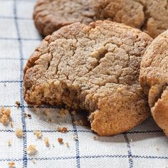 Ginger: Ginger enthusiasts rejoice! One of the oldest anti-nausea tricks in the book seems to work, at least a little bit. Four studies found that ginger was better at relieving morning sickness symptoms than a placebo.  A great recipe that has helped with morning sickness (and nausea in general) are my gluten free snickerdoodles from The Plan Cookbook.  Ginger Snickerdoodles These lightly sweetened cookies are rich in protein and great for the whole family as a snack or a treat.  2 cups…
