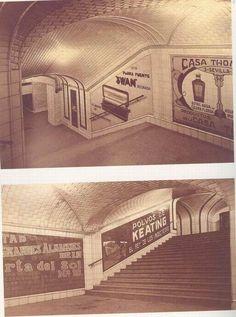 Anuncios en los pasillos del Metro - MadridMetropolis - Detalles de Madrid: julio 2013 Metro Madrid, Metro Subway, Buses, Vintage Photos, Train, Black And White, Photography, Metro Station, Old Stuff