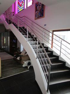 Železobetonová schodiště DNA DESIGN- lomenicová konstrukce