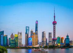 https://flic.kr/p/xsN11o | Shanghai Cityscape by night - China | Canon EOS 700D