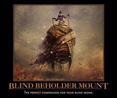 Blind Beholder Mount