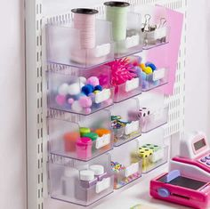 Craft Board Acrylic Storage Box - Tall - Home Storage Systems From Store