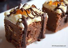 Negresa reteta perfecta (brownie) (22) Food Cakes, Something Sweet, Cookie Recipes, Sweet Treats, Healthy Recipes, Healthy Foods, Good Food, Food And Drink, Ice Cream