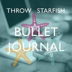 Check out our 1st Podcast all about Bullet Journal -ing.  Link to Episodes in the board description. Throw Starfish Podcast (@throwstarfish)