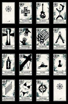 LOST Tarot Cards: LOST Tarot Cards