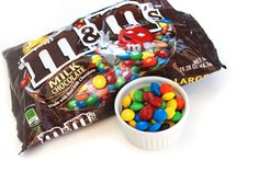 M & M's (You can be a kid again by adding M&M's to your Rice Krispies Treats)