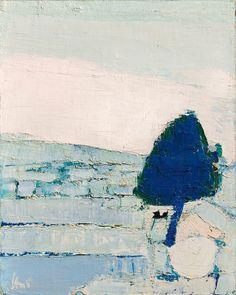 Nicolas de Staël (1914 - 1955) Paysage de Provence, 1953 Galerie Applicat-Prazan, Paris