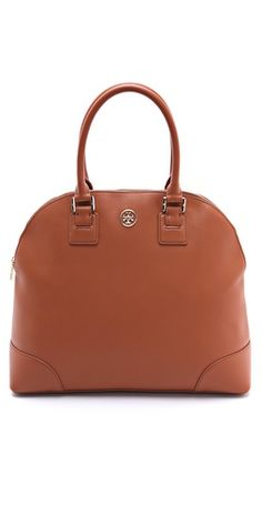 Tory Burch Robinson Dome Satchel | SHOPBOP