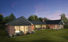 Wattle - Green Homes Passive Solar Homes, Green House Design, Passive Design, Thermal Mass, Energy Efficient Homes, Solar House, Best House Plans, Australian Homes, Green Homes