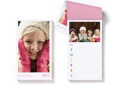 Weekly Notepad Calendar