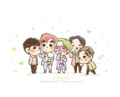 [fanart] #BIGBANG 0TO10 Final in Seoul ❤️☀️